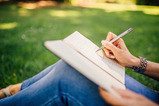Pen Writer Girl Book Writing Notebook Notes